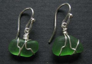 beach-glass-earrings