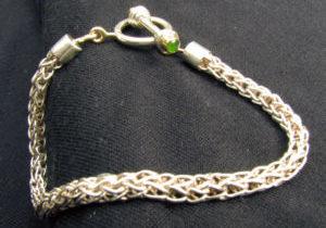 silver-hand-woven-bracelet