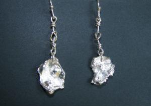 sterling-silver-free-form-cast-earrings